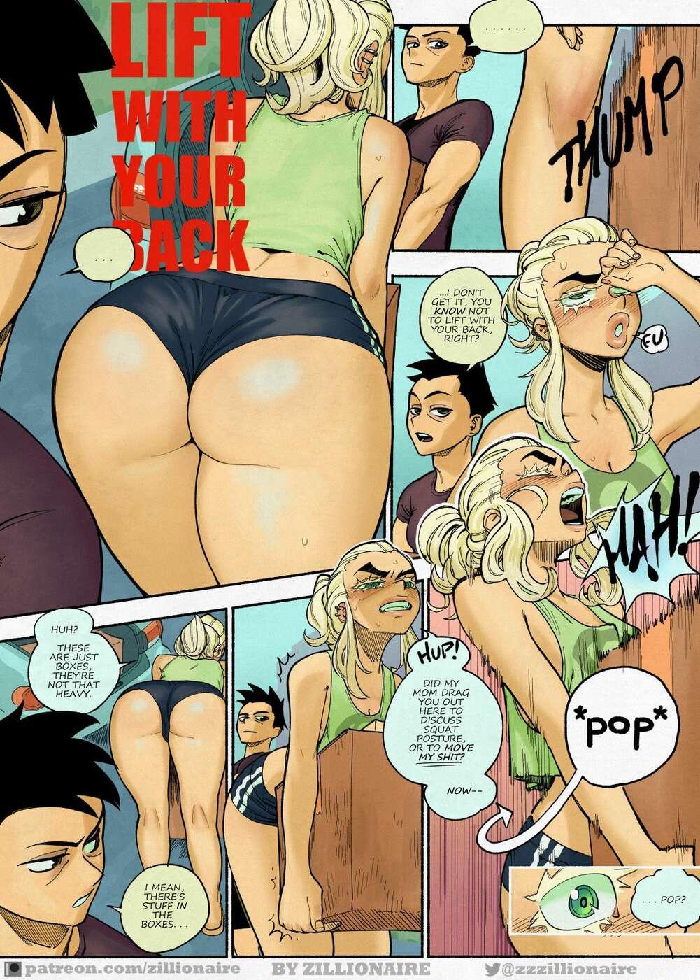 Comics erotic Cuckold cartoons.