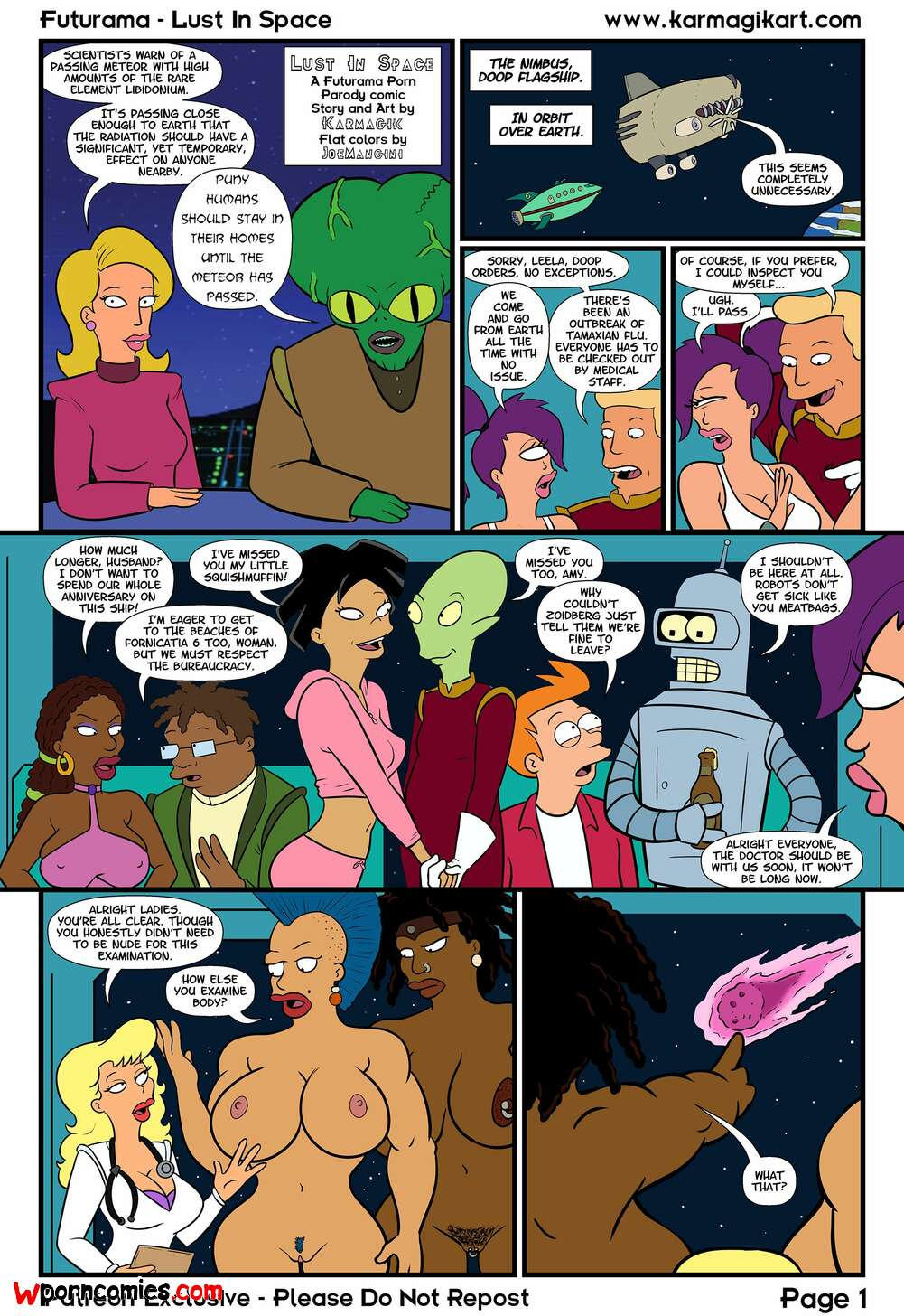 Porn comic space Nsfw Space